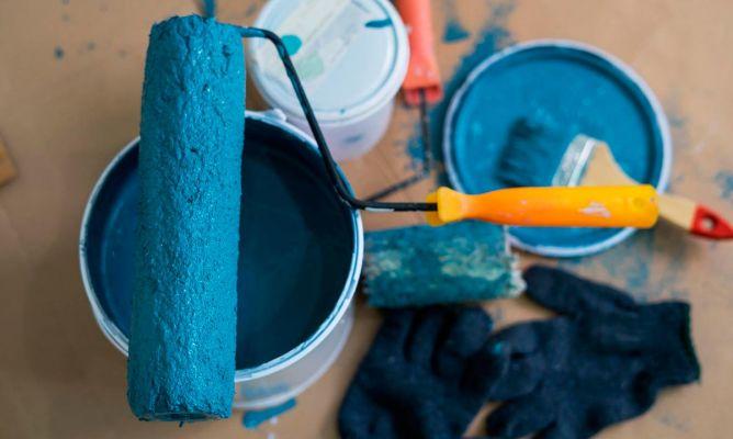 Pintar gotelé con rodillo