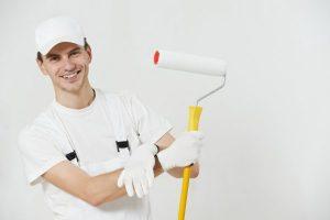 depositphotos 14041185 stock photo portrait of house painter worker 300x200 - Pintores de pared Barcelona